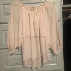 althea Tops - Althea cream blouse- purchased at Neiman Marcus